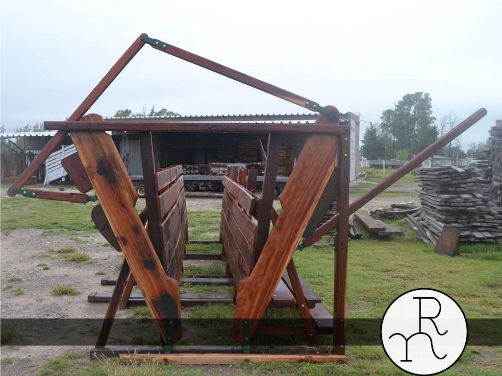 Cepo para ganado vacuno art culos rurales carpinter a for Casillas de madera precios