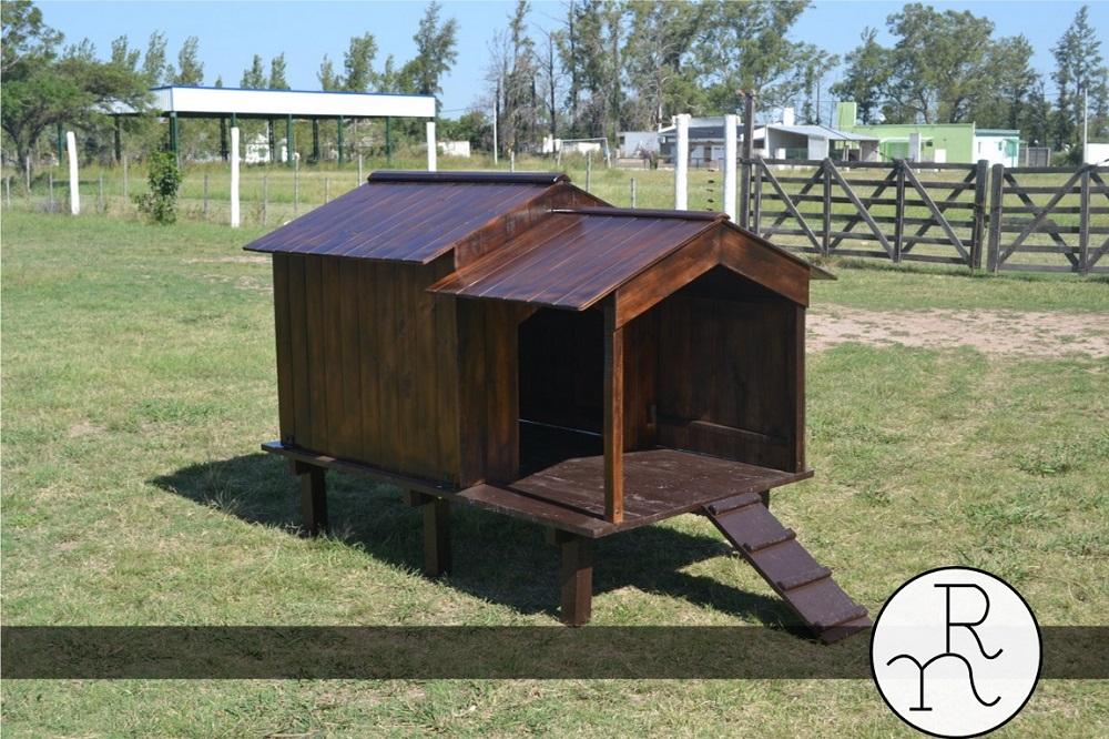 casa para perros de madera | Rincón del Norte. Aserradero y ...