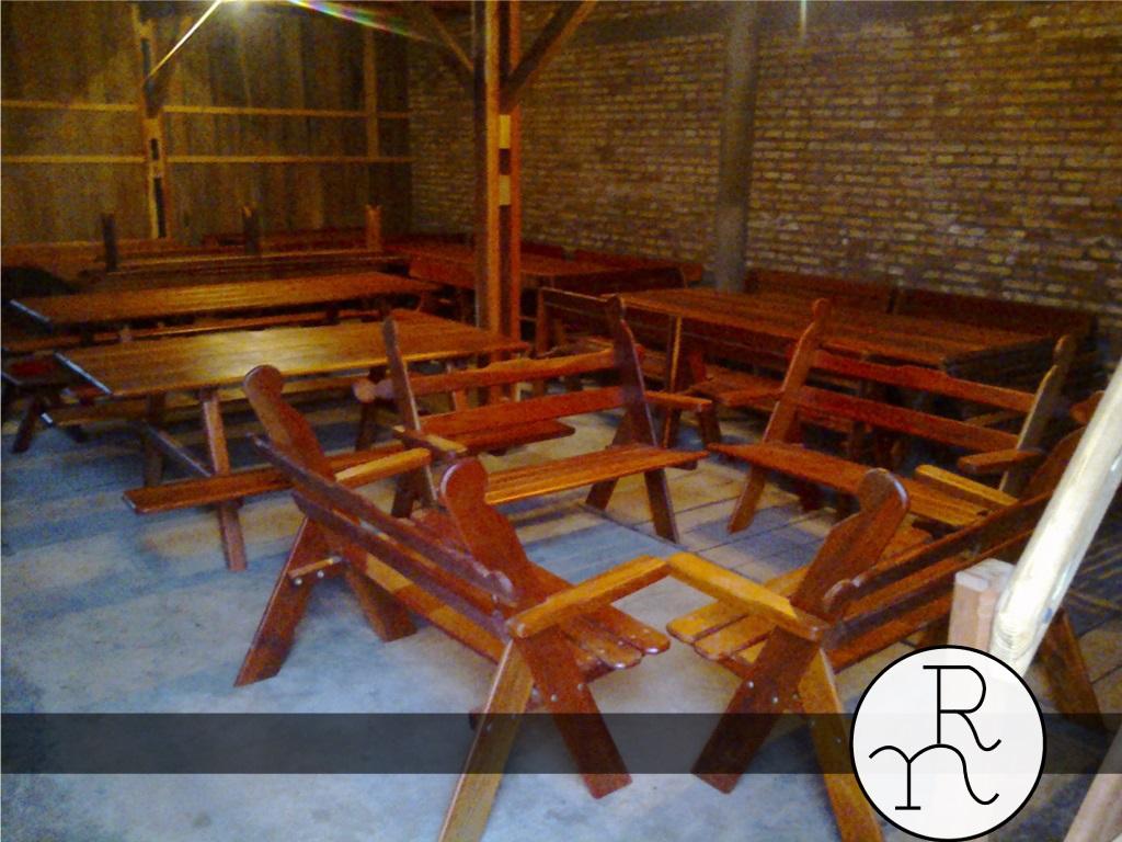 Modelos de bancos para exterior de madera rinc n del - Mesas de madera para exterior ...