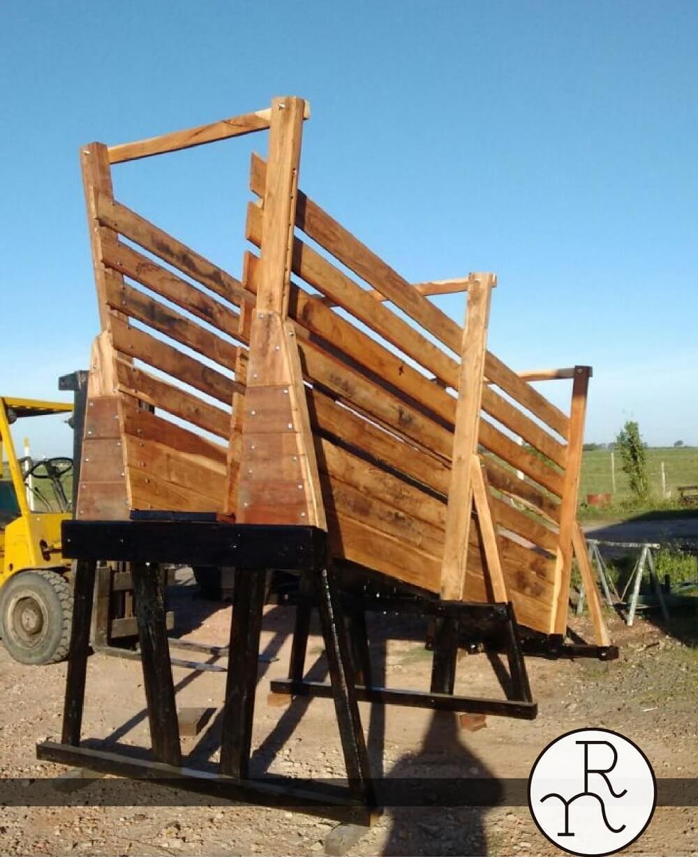 embarcadero de hacienda reforzado